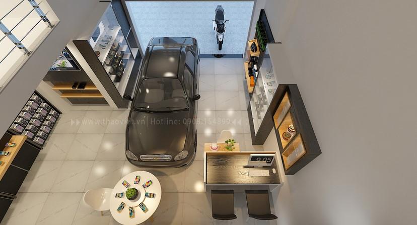thiết kế shop điện thoại Khánh 1