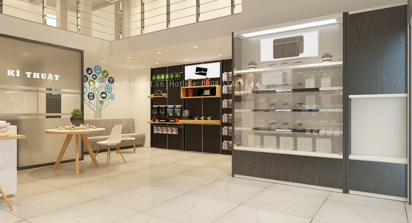 thiết kế shop điện thoại Khánh 4