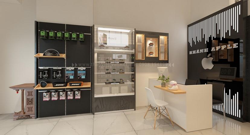 thiết kế shop điện thoại Khánh 6