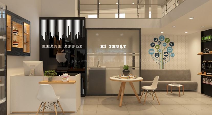 thiết kế shop điện thoại Khánh 7