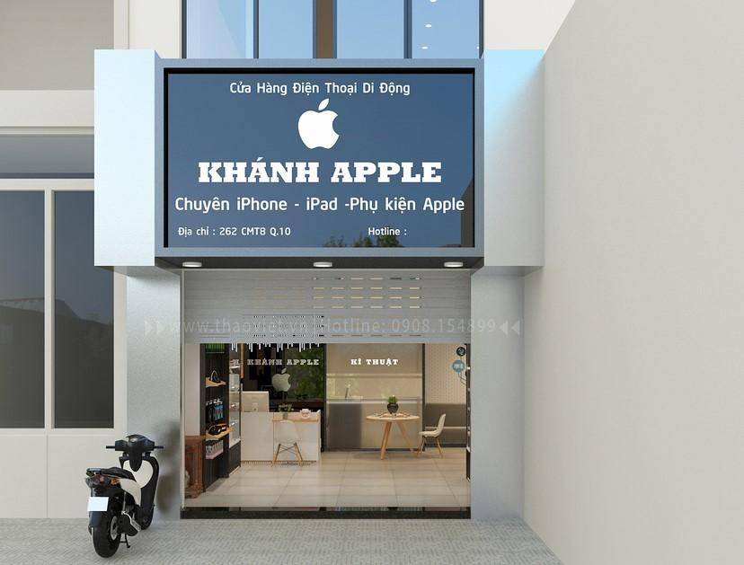 thiết kế shop điện thoại Khánh