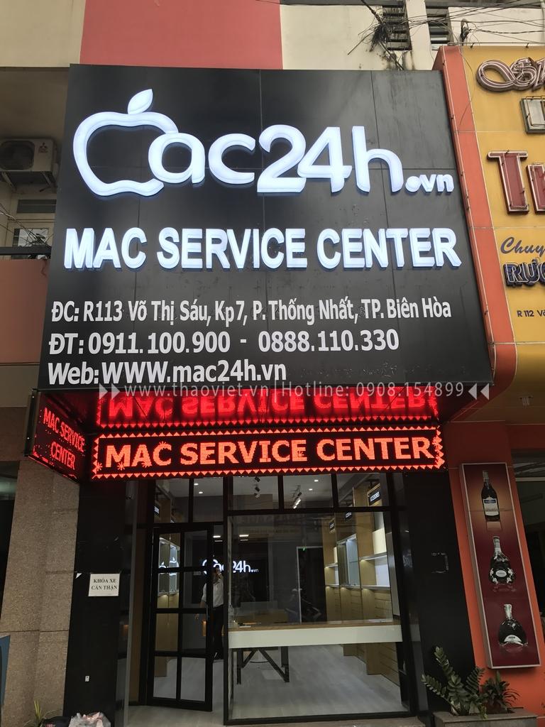 thi công shop Mac 24h 1