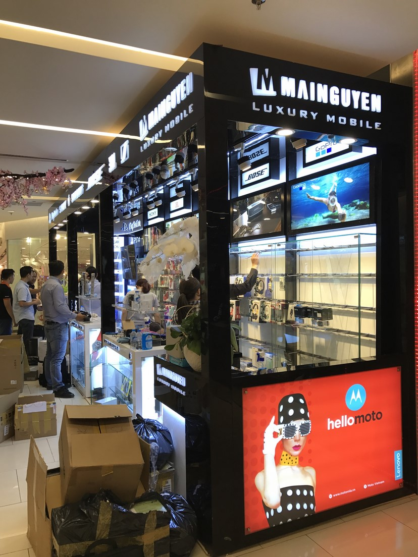 hình thực tế shop Mai Nguyên SG Center 3