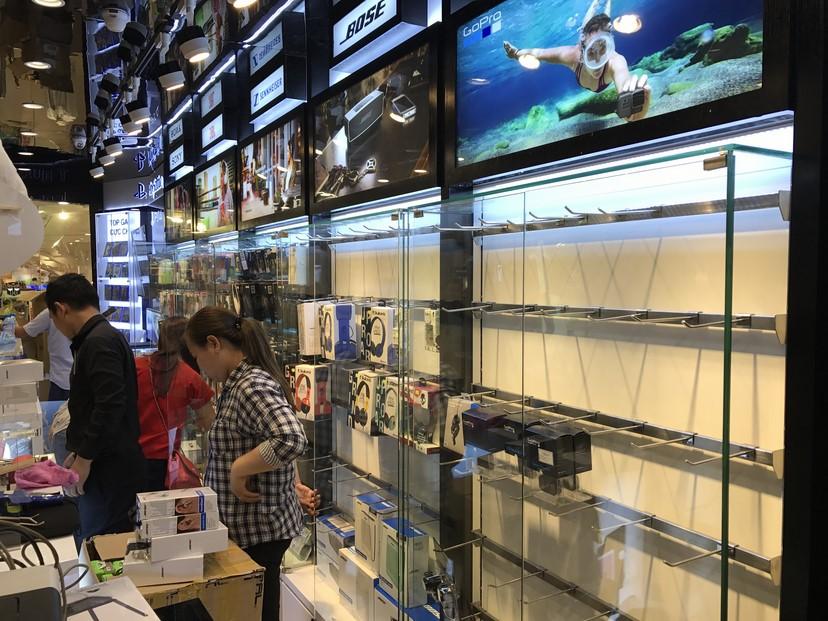 hình thực tế shop Mai Nguyên SG Center 4
