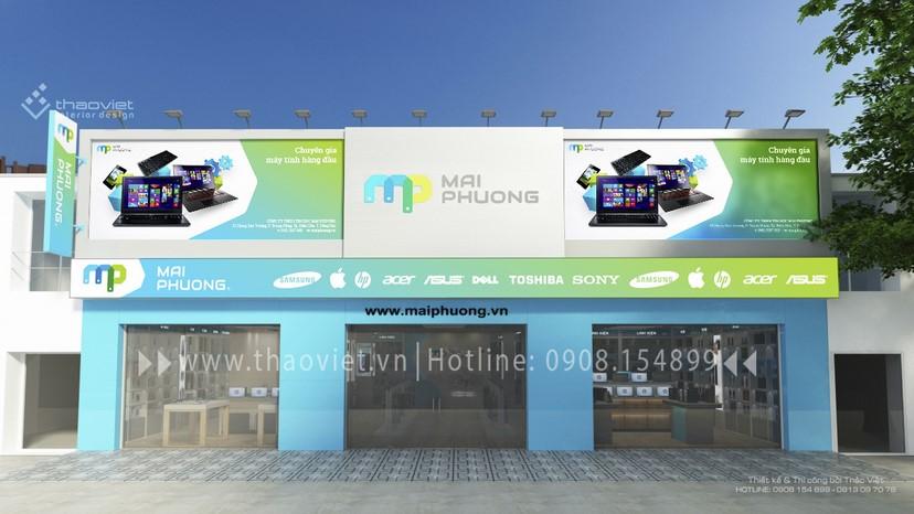 hình 3d shop Mai Phương