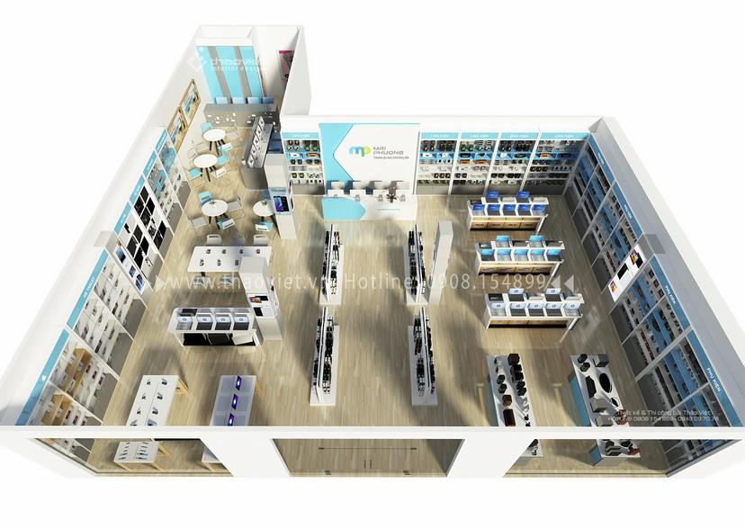 hình 3d shop Mai Phương 1