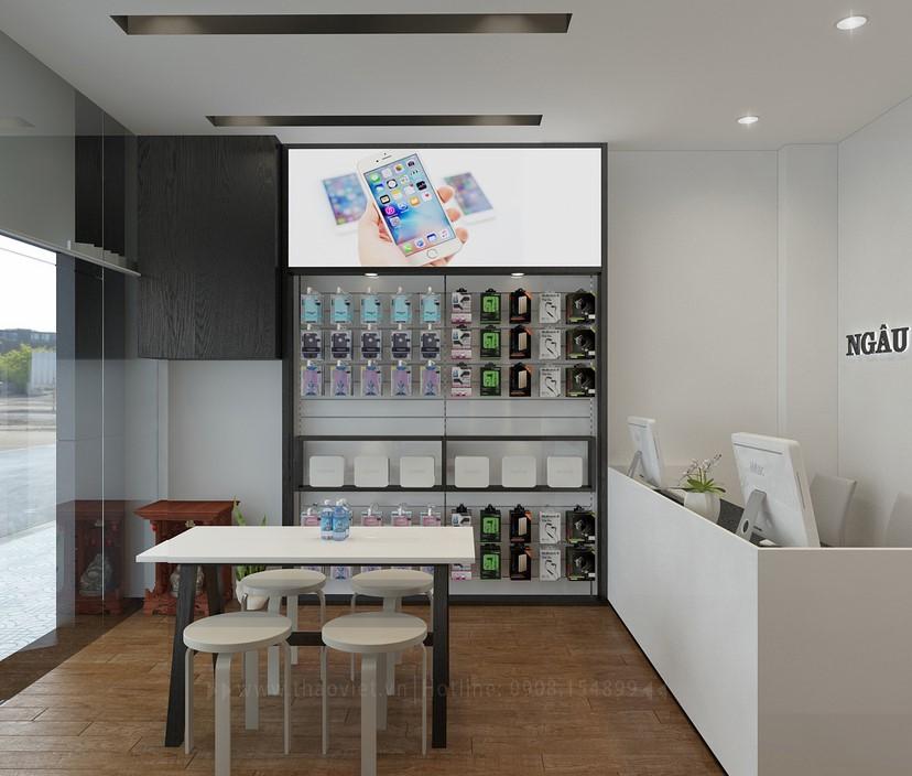 thiết kế shop điện thoại Ngầu Đen 3