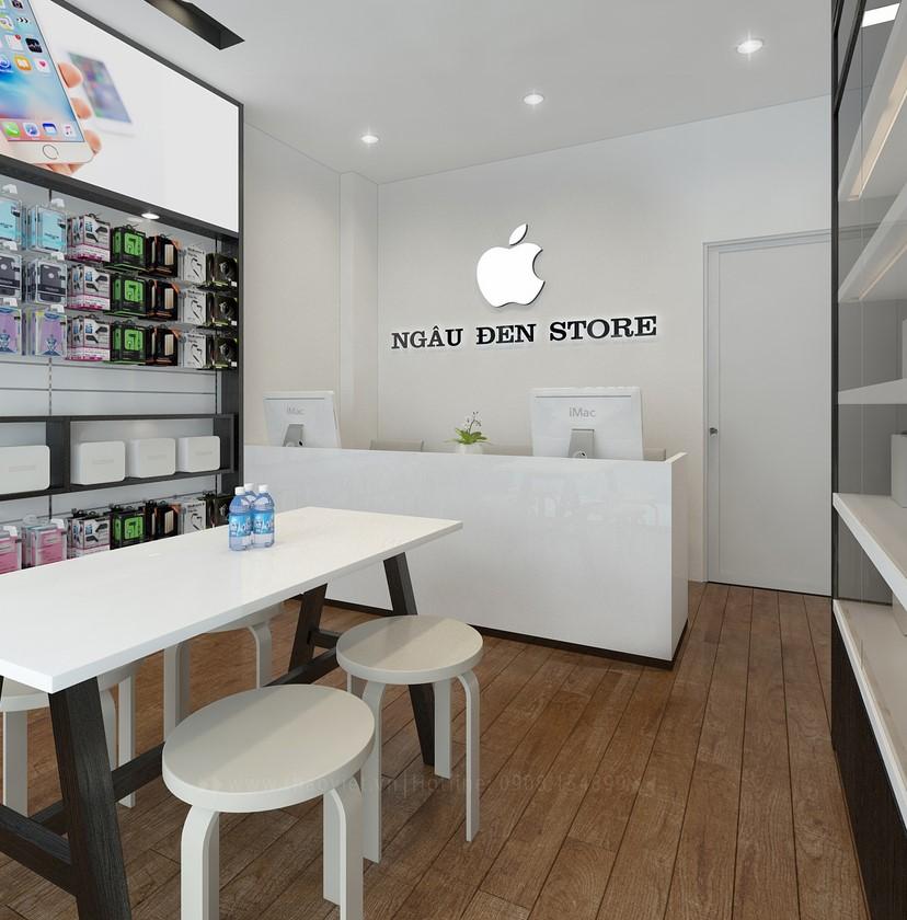 thiết kế shop điện thoại Ngầu Đen 4