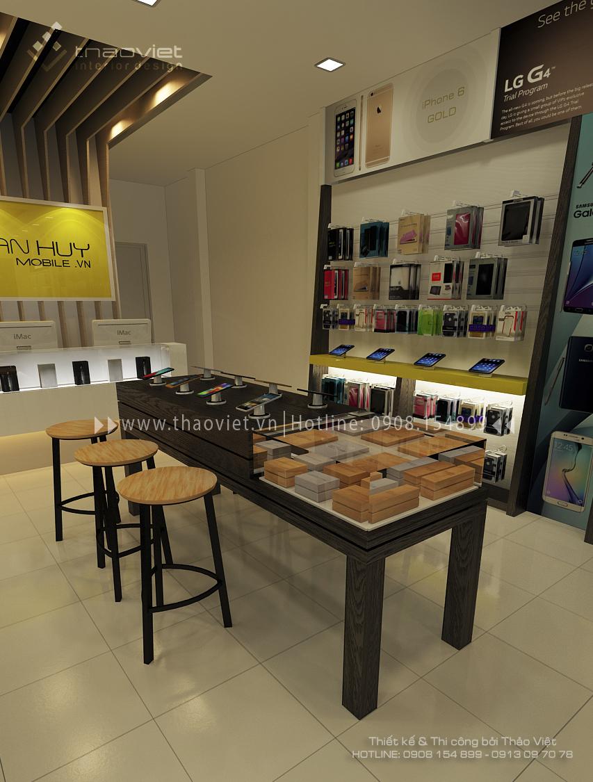 thiết kế shop điện thoại Phan Huy 1