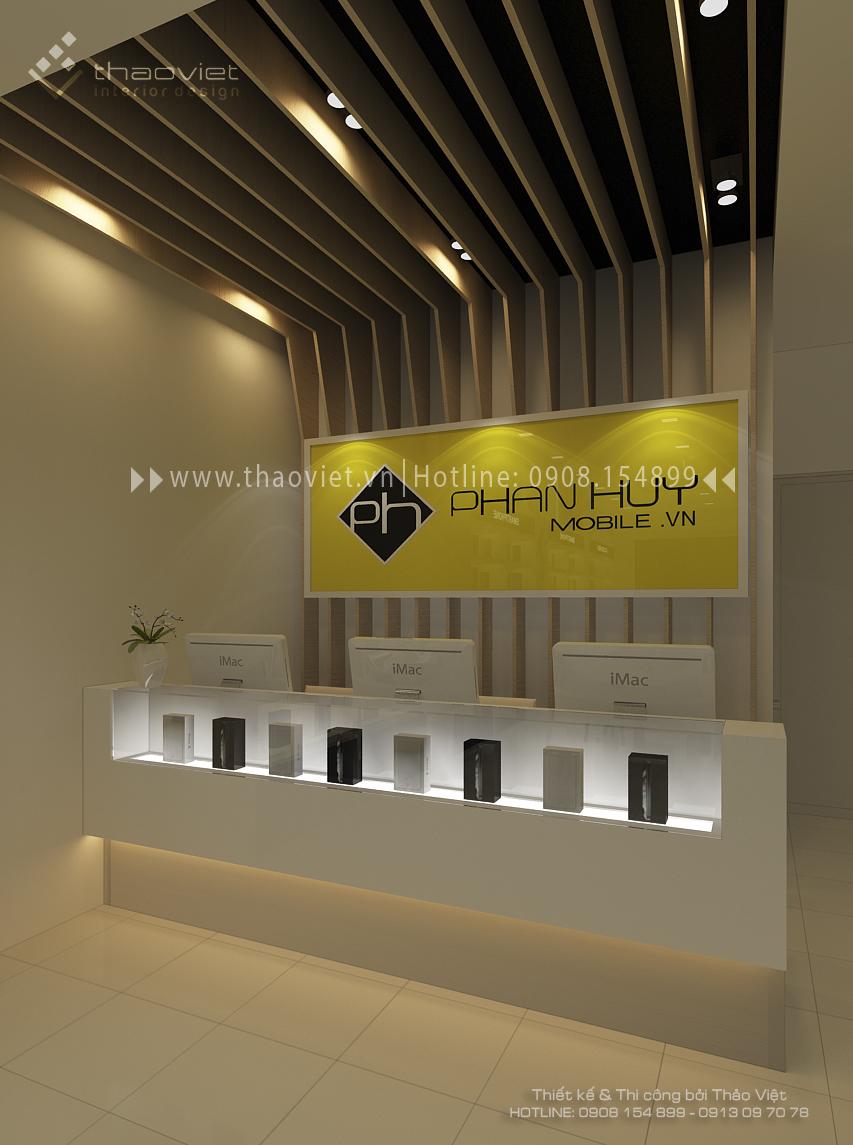 thiết kế shop điện thoại Phan Huy 6