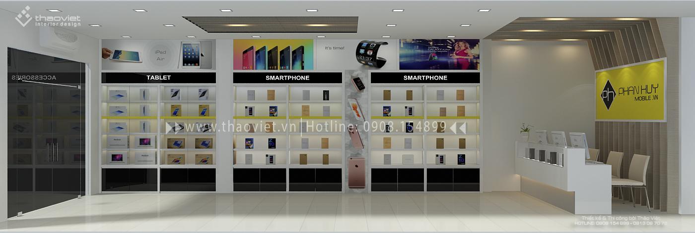 thiết kế shop điện thoại Phan Huy 5
