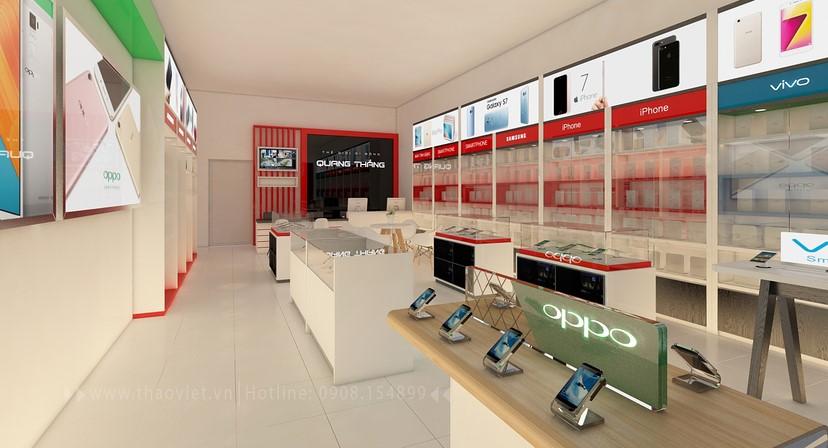 thiết kế nội thất shop điện thoại đẹp 5