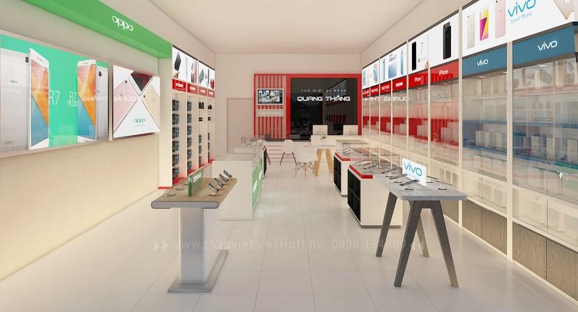 thiết kế nội thất shop điện thoại đẹp 4