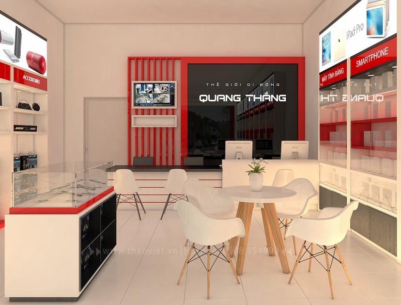 thiết kế nội thất shop điện thoại đẹp 6