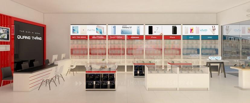 thiết kế nội thất shop điện thoại đẹp 8