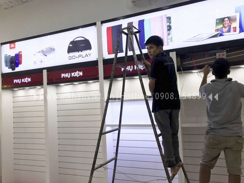 thi cong shop Quang Thắng 1