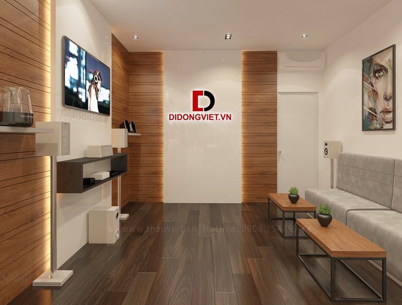 Thiết kế nội thất shop điện thoại Di Động Việt 7