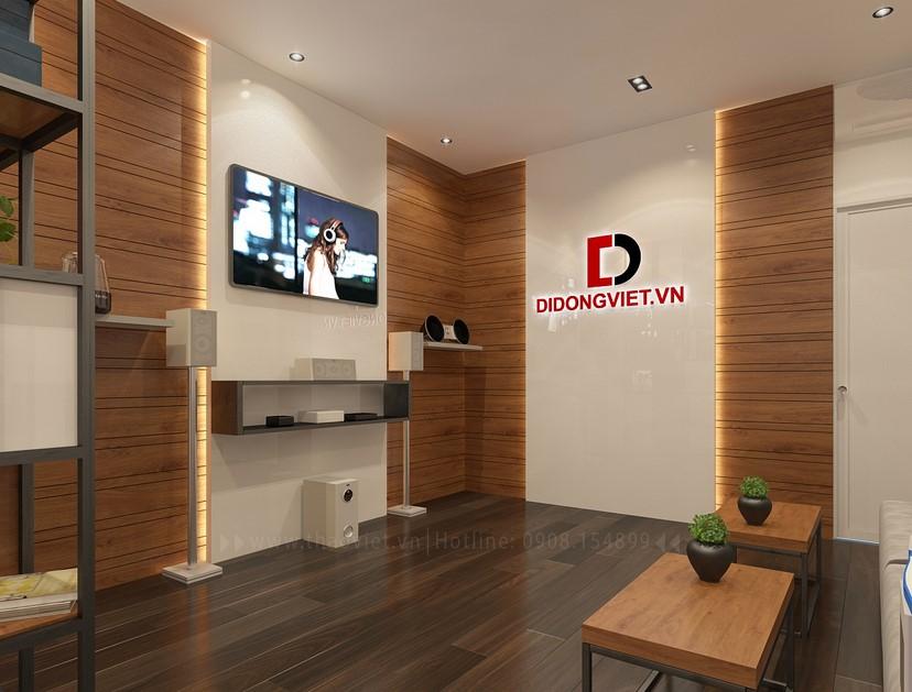 Thiết kế nội thất shop điện thoại Di Động Việt 8