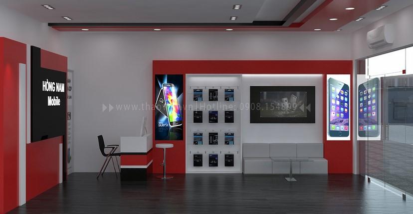 Thiết kế nội thất shop Hồng Nam 5