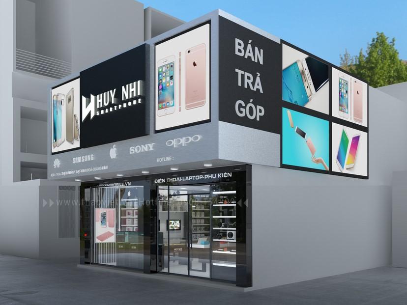 thiết kế nội thất shop Huy Nhi