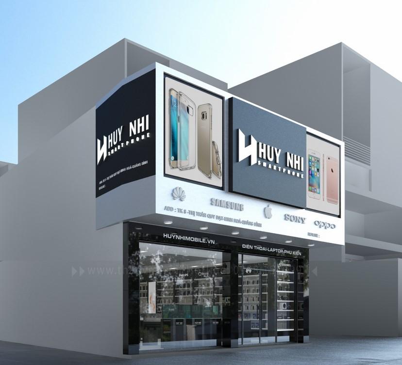 thiết kế nội thất shop Huy Nhi 1