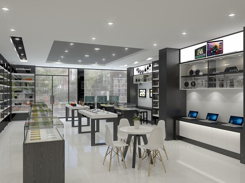 thiết kế nội thất shop Huy Nhi 5