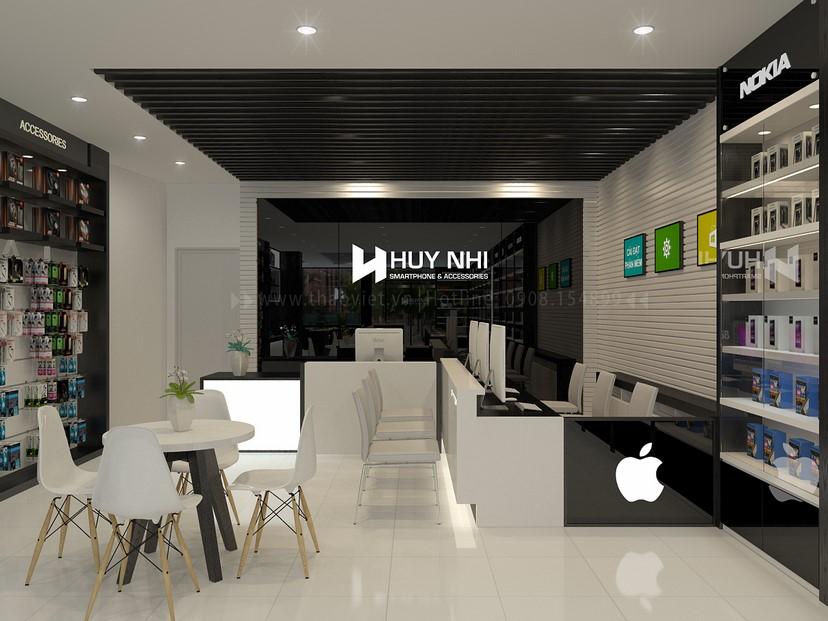 thiết kế nội thất shop Huy Nhi 4