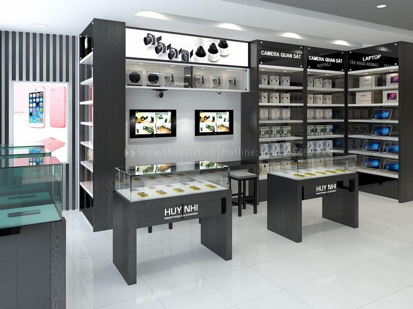 thiết kế nội thất shop Huy Nhi 9