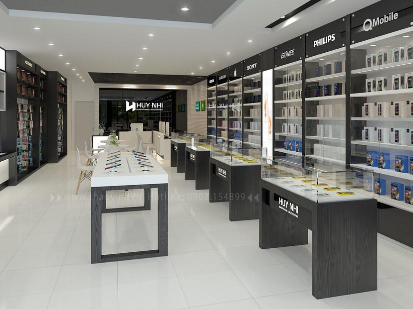 thiết kế nội thất shop Huy Nhi 6