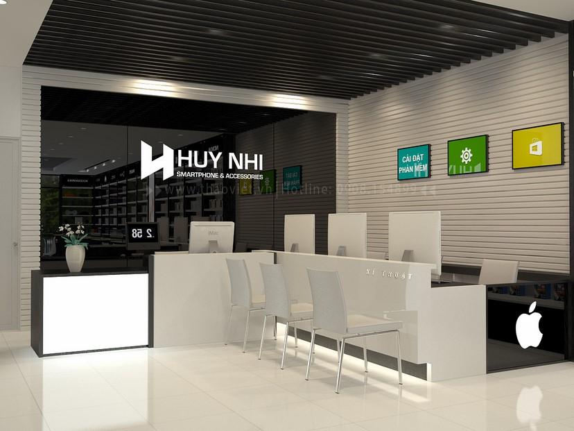 thiết kế nội thất shop Huy Nhi 8