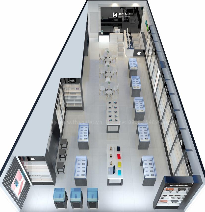 thiết kế nội thất shop Huy Nhi 2