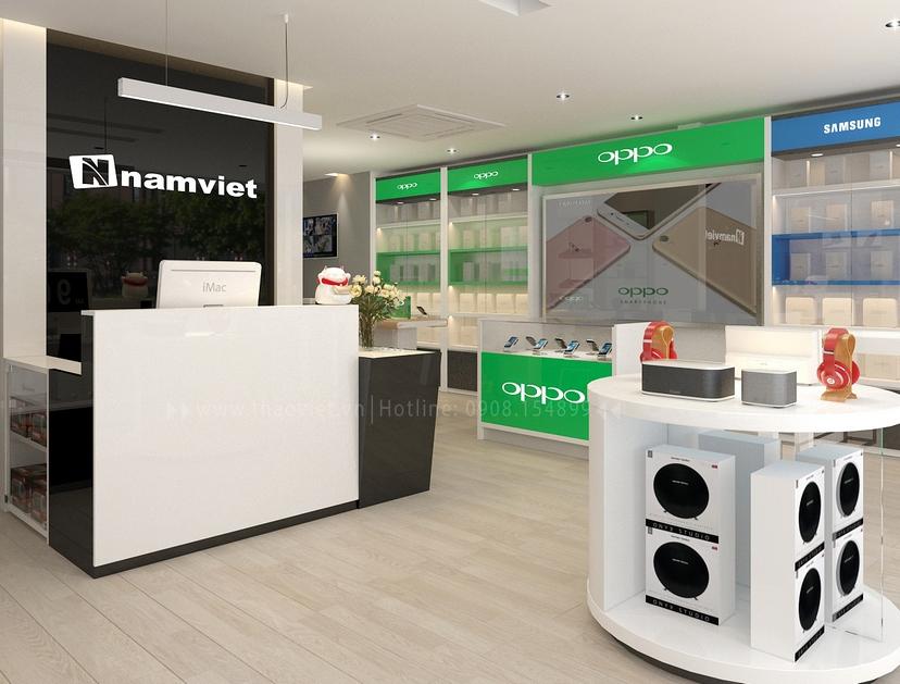 thiết kế nội thất shop Nam Việt 2