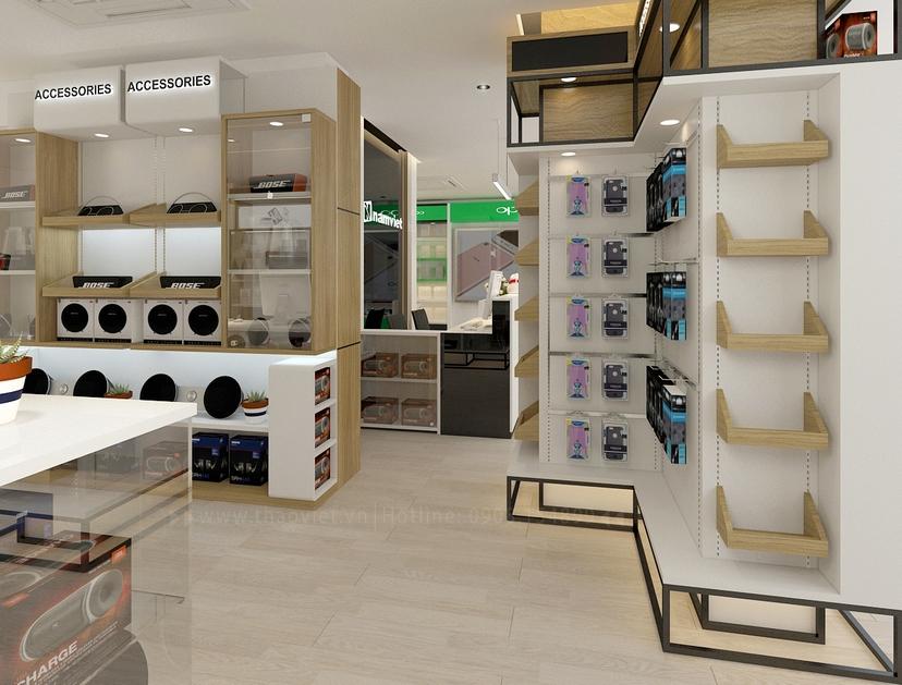 thiết kế nội thất shop Nam Việt 4