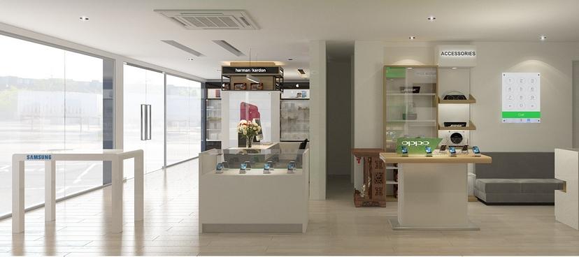 thiết kế nội thất shop Nam Việt 9