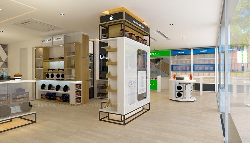 thiết kế nội thất shop Nam Việt 8