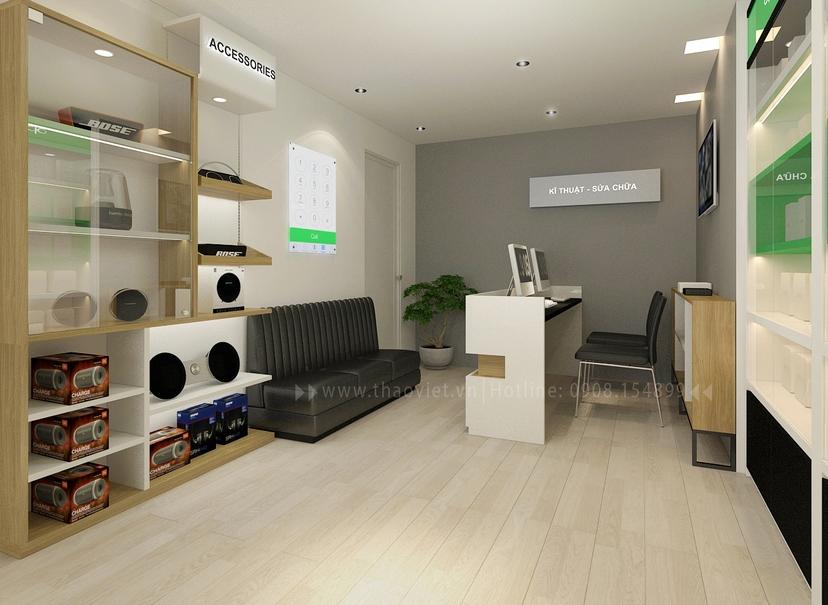 thiết kế nội thất shop Nam Việt 5