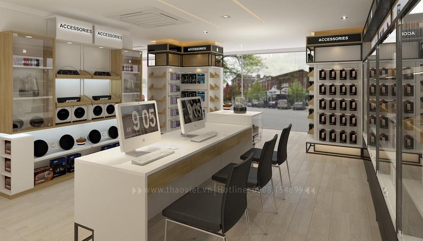 thiết kế nội thất shop Nam Việt 11