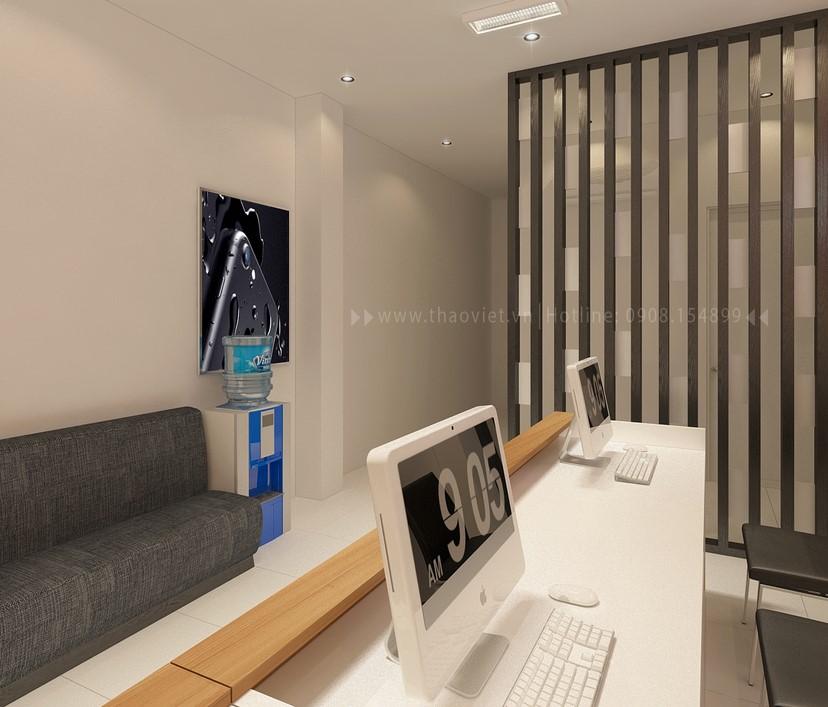 thiết kế nội thất shop điện thoại T&H 5