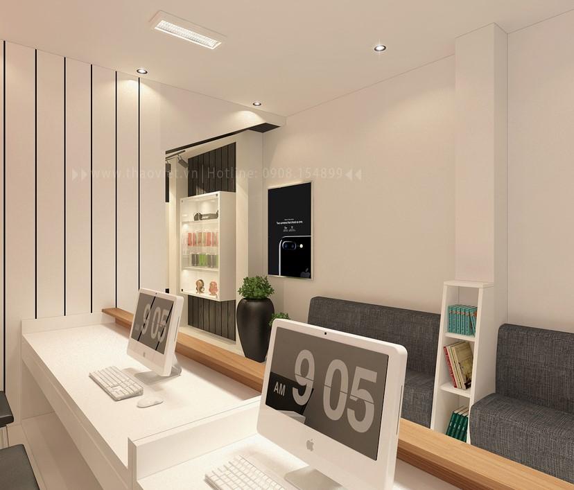 thiết kế nội thất shop điện thoại T&H 6
