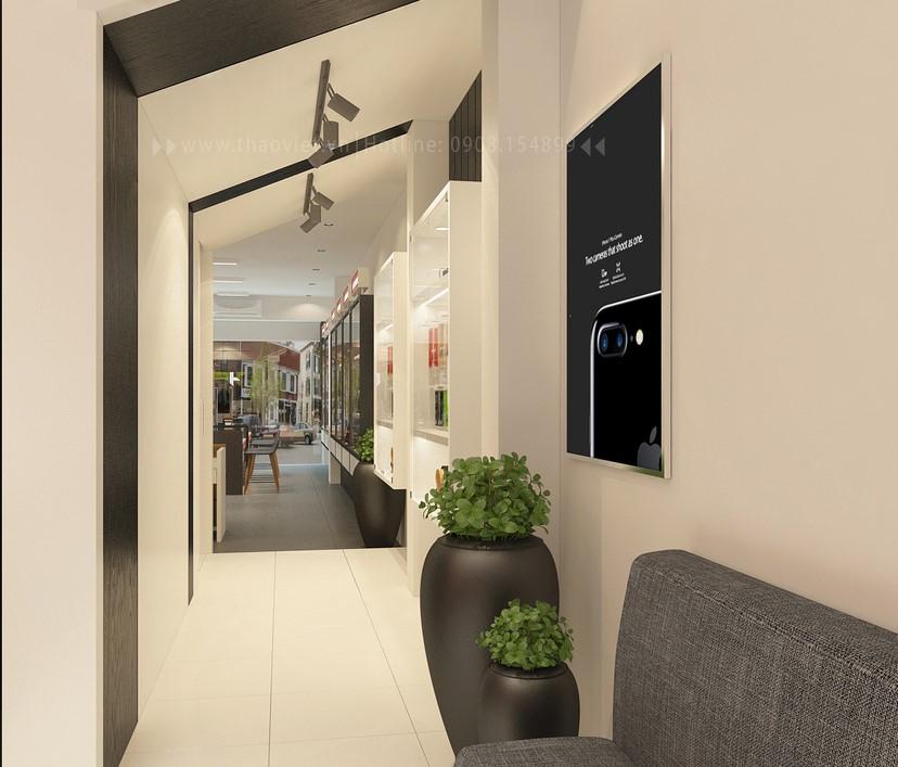thiết kế nội thất shop điện thoại T&H 11