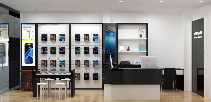 Thiết kế nội thất shop Thanh Luxury 6