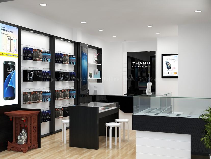 Thiết kế nội thất shop Thanh Luxury 3