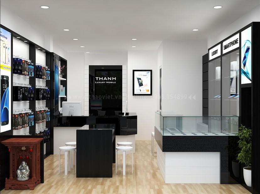 Thiết kế nội thất shop Thanh Luxury 2