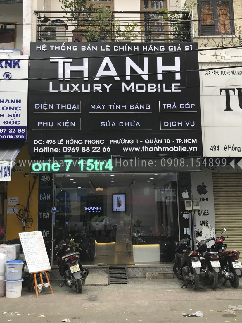 thực tế shop Thanh Luxury Mobile 1