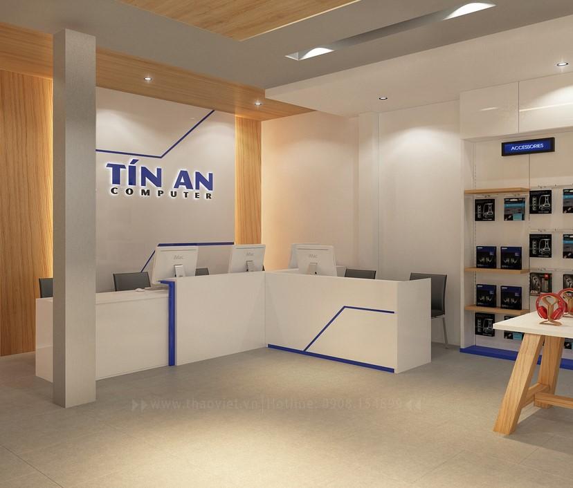 Thiết kế nội thất shop Tín An 10