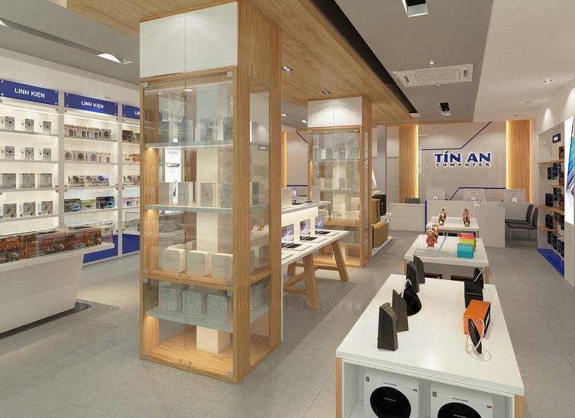 Thiết kế nội thất shop Tín An 5