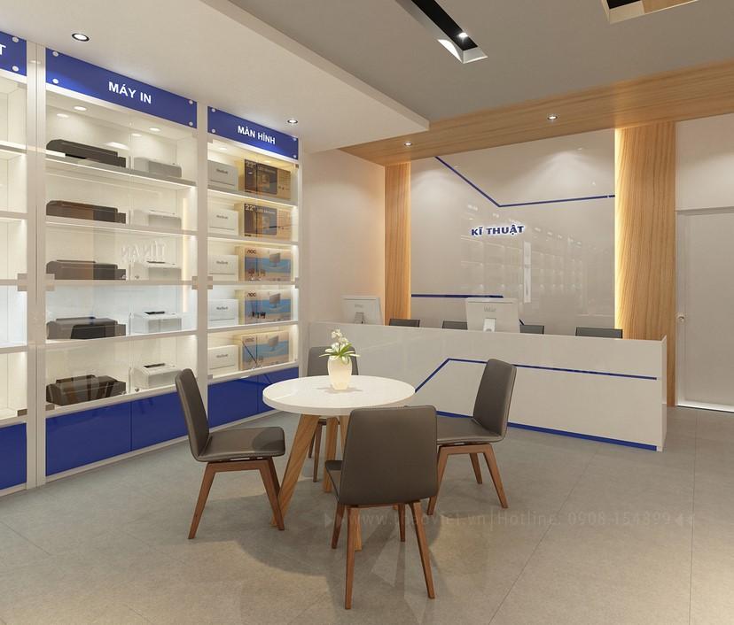 Thiết kế nội thất shop Tín An 9