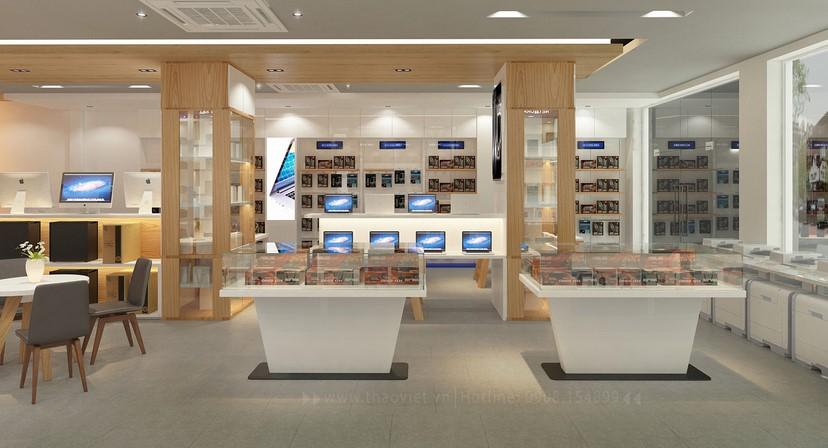 Thiết kế nội thất shop Tín An 12