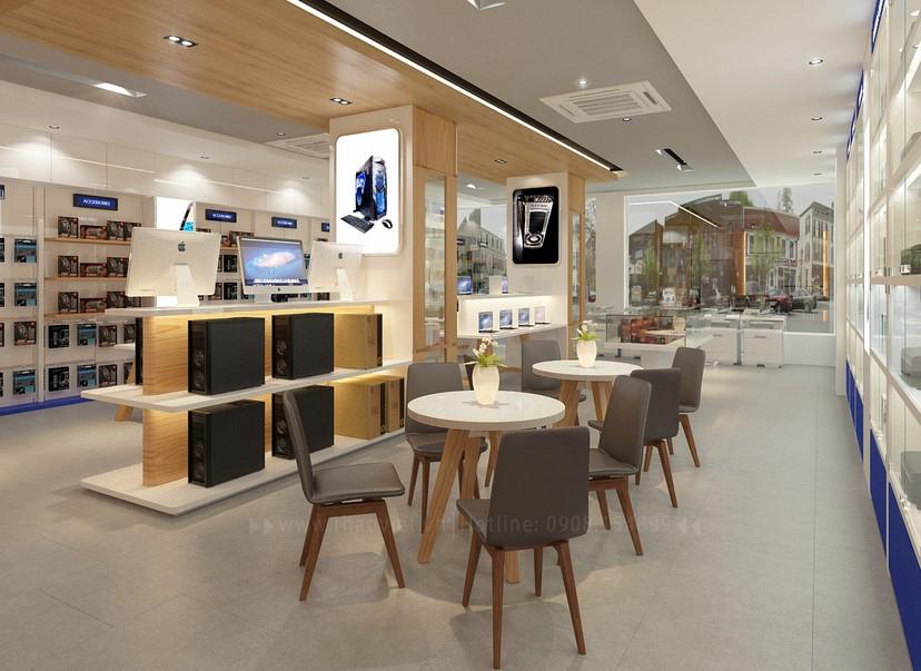 Thiết kế nội thất shop Tín An 6