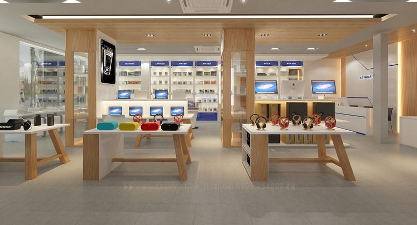 Thiết kế nội thất shop Tín An 13
